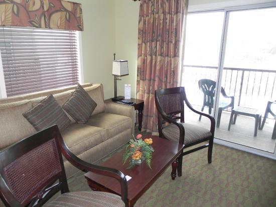 Holiday Inn Club Vacations at Lake Geneva Resort: Sofa bed