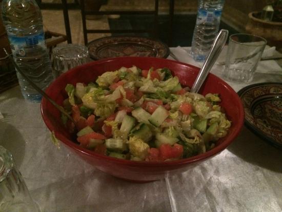 Riad Elixir: salad