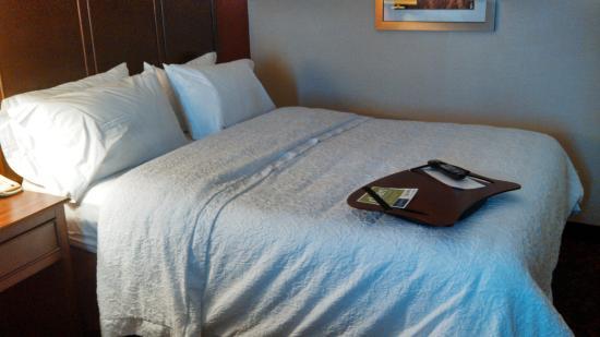 Hampton Inn by Hilton Edmonton/South: Comfy bed