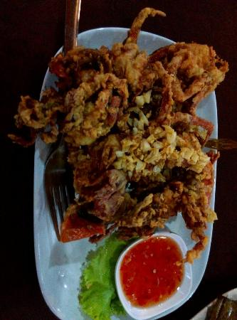 Soft shell crab, cheap and nice