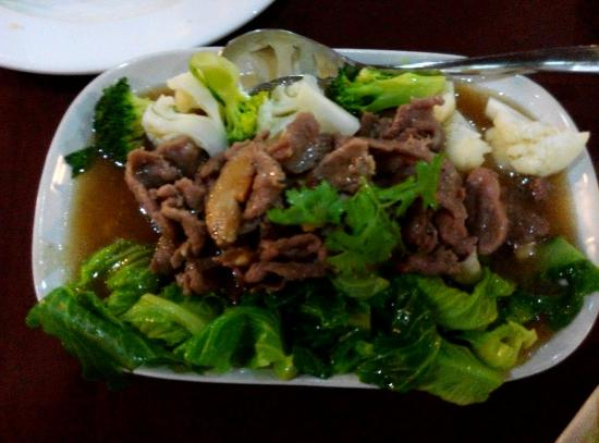 This is beef and vege! Not so special but really worth to try.
