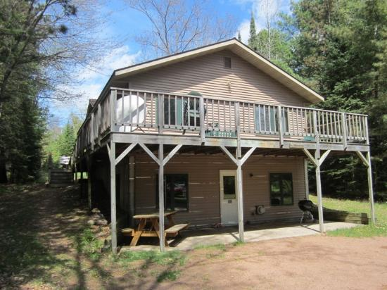Saint Germain, WI: Trailside Cabin