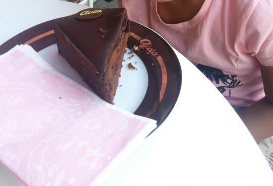 Cafe-Konditorei Aida: Sacher Torte