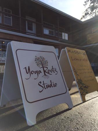 Yoga Roots Studio in Downtown Manzanita