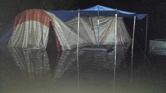 BIG4 Gold Coast Holiday Park & Motel: During the flood