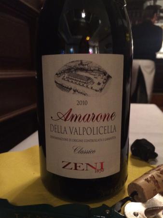 Nabucco : ザルツブルクはアマローネ安くて美味しい