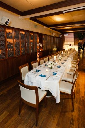 Thala Private Dinner Party In Wine Cellar
