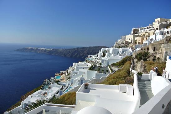 Astra Suites: Amazing view of the Caldera!