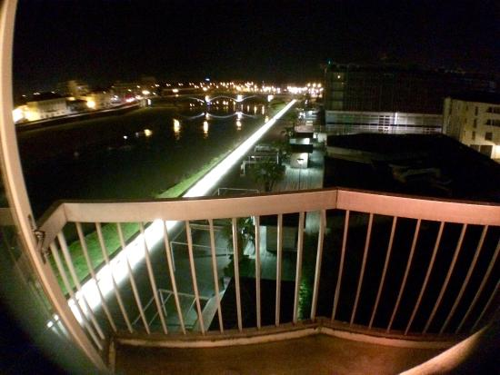 Ibis Styles Dax Miradour : Le vue depuis le balcon