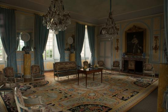 Salon louis xvi foto di chateau de dree curbigny for Salon louis 16