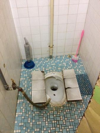 Love Lane Inn: Toilet...