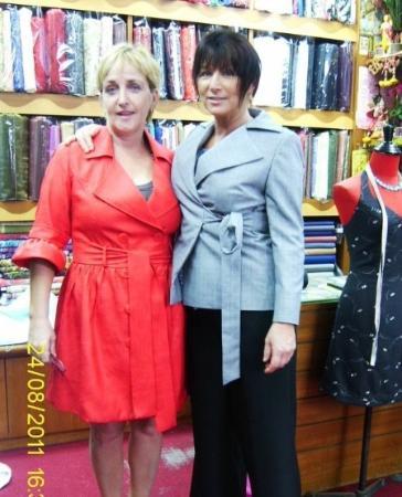 Bophut, Tailandia: Boss style tailors coat & jacket