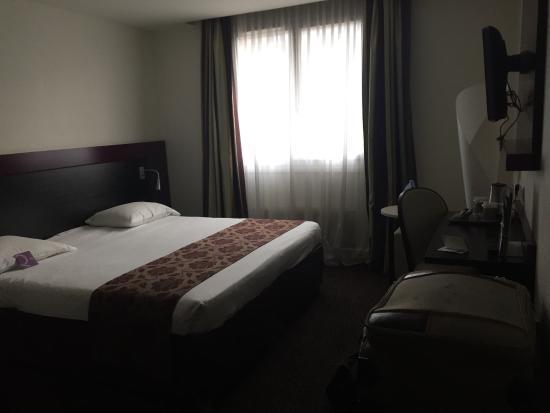 Mercure Lille Roubaix Grand Hotel : Chambre