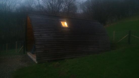 Black Hall Lodges: our wigwam