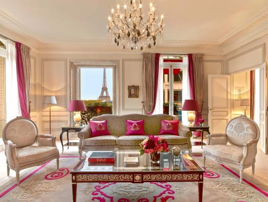 Hôtel Plaza Athénée: Plaza Athenee - Suite Eiffel Signature 461 - LR (c) Eric Laignel 1