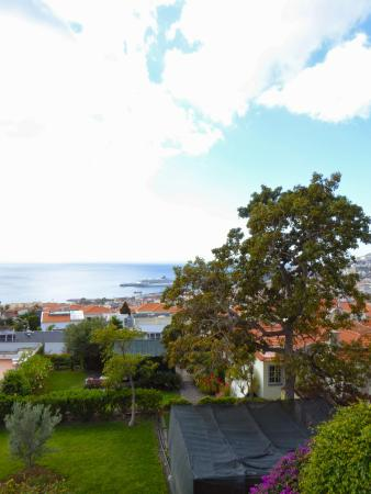 Quinta Mae Homens Apartments: view from the balcony