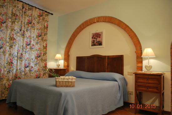 Podere Monti: bedroom