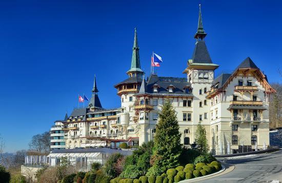 The Dolder Grand : The hotel.