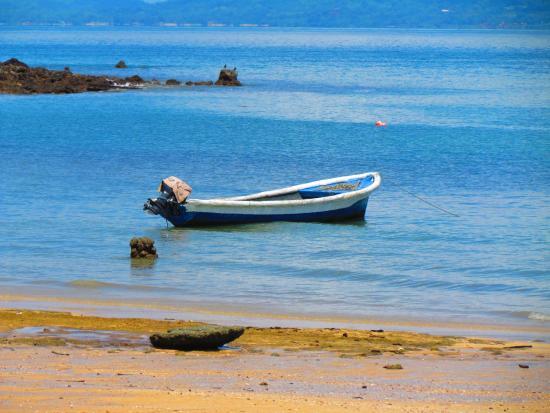 Calaloo Beach, FishBar & Grill: Panga Fishing Boat