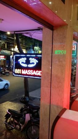 An An 2 Hotel : Massage shop downstair of an an 2