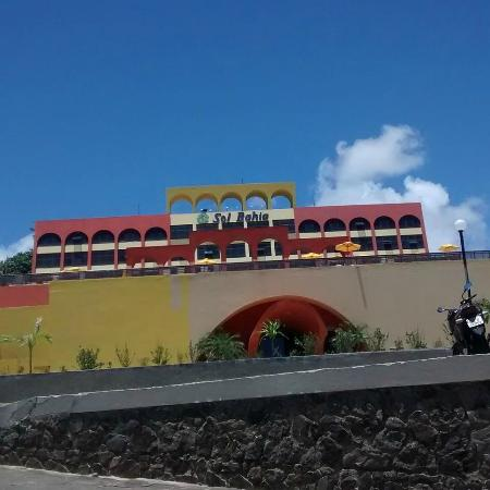 Sol Bahia Sleep: Entrada do hotel