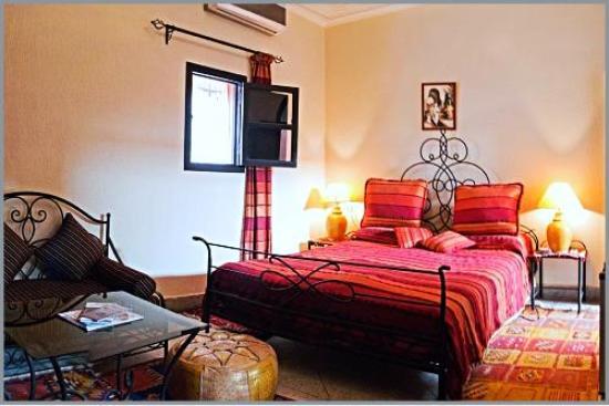 chambre jaune - Photo de riad losra, Marrakech - TripAdvisor