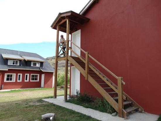 Anita's House Cabins: puerta entrada
