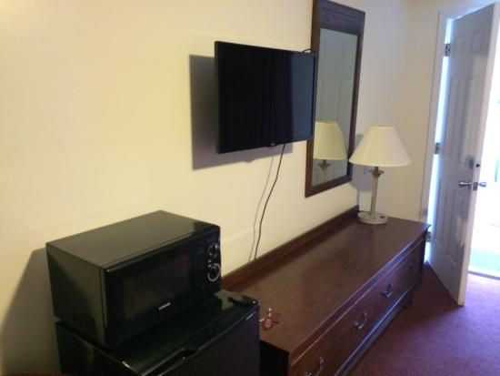 Turnpike Motel: Double rooms