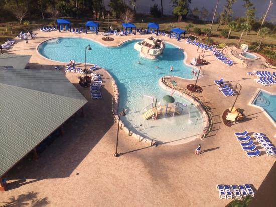 The pools picture of wyndham lake buena vista disney for Pool show orlando 2015