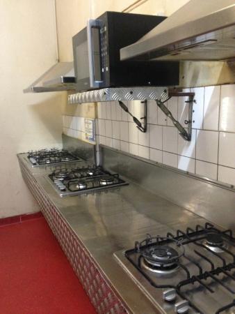 Nomads All Nations Hostel : kitchen