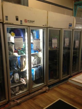 Nomads All Nations Hostel: freezer