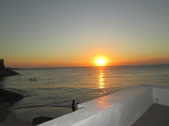 Pousada do Mar Guaratiba : Pôr do Sol em Barra de Guaratiba