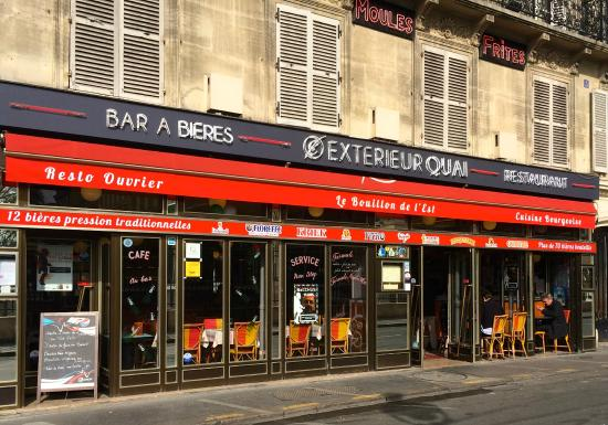 Exterieur quai paris restaurant reviews phone number for Exterieur restaurant