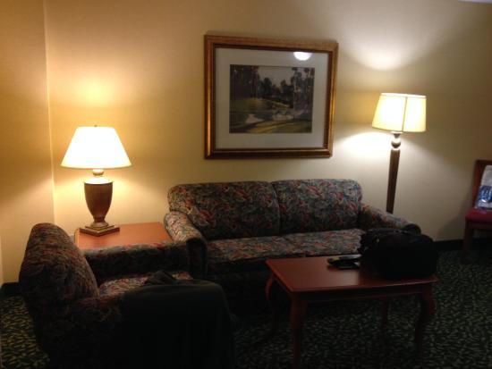 Embassy Suites by Hilton Greenville Golf Resort & Conference Center: Living room