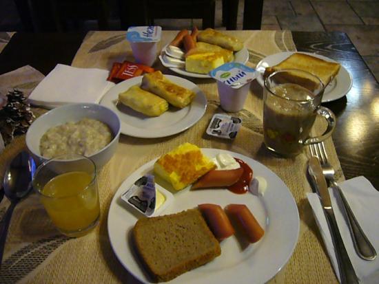 Hotel Natalie: завтрак