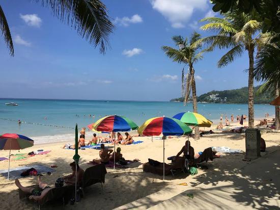 Sunprime Kamala Beach: пляж