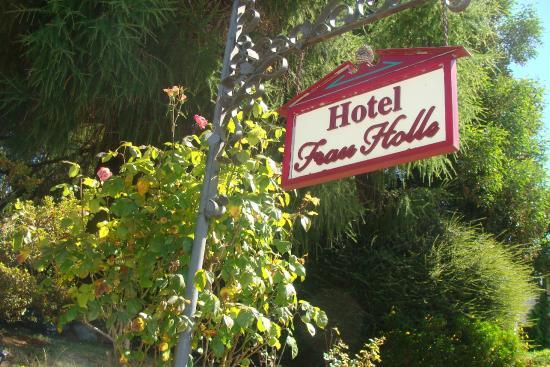 Hotel Frau Holle : Entrada Hotel