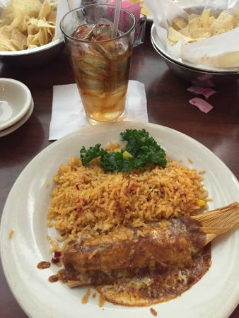Abuelo's: My wonderful tamale!