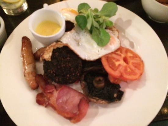 The Russell Restaurant: The big breakfast brunch. Tasty and filling. What you need at brunch time