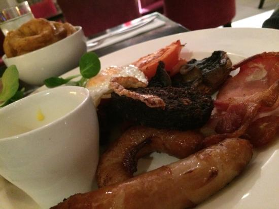 The Russell Restaurant: The big breakfast brunch. Can't beat it.