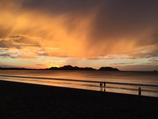 Hotel Isolina Beach: Sunset at the Potrerobeach