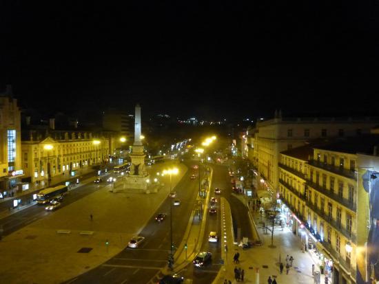 Altis Avenida Hotel: vue du balcon