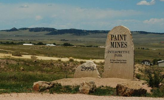 Calhan (CO) United States  city photos gallery : ... Mines Colorado Picture of The Paint Mines Interpretive Park, Calhan
