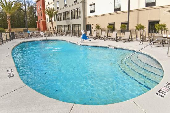 The Swimming Pool View Picture Of Hampton Inn Suites Pensacola I 10 Pine Forest Road