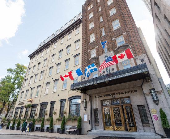 Hotel Clarendon  Quebec  Quebec City