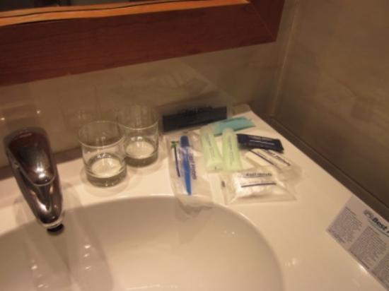 Hotel Aranea: Badaccessoires