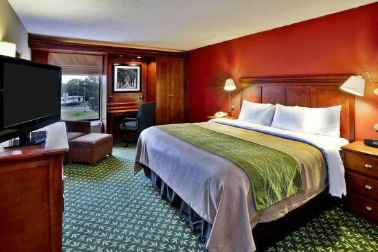 Comfort Inn Oxford : Updated King Room