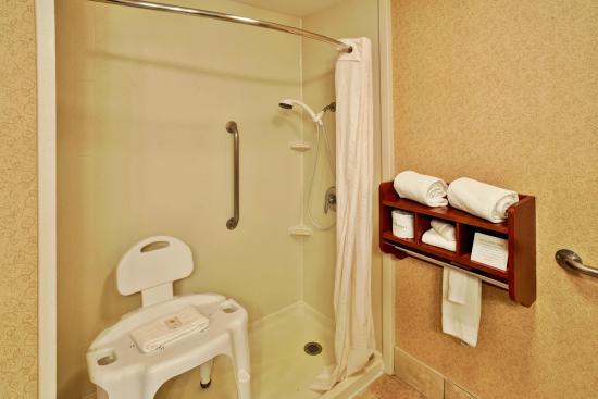 Comfort Inn Oxford: Handicap Accessible Bathroom