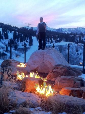Sunset champagne ritual picture of j g grill park city - No name saloon and grill park city ut ...