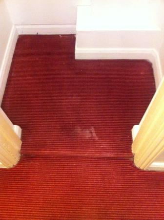 Comfort Inn London - Victoria: Dirty carpet